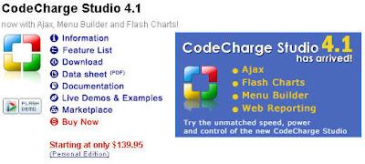 CodeCharge Studio