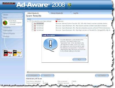 Google Error AdAware