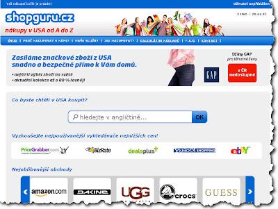 Shopguru.cz - Nákupy v USA