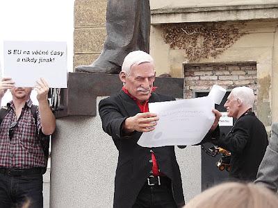 Václav Klaus a Lisabonská smlouva