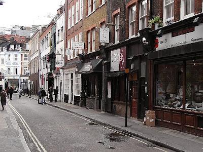 London - Soho Street