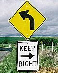 Keep Right Go Left