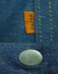 Levis Vintage orange tab made in usa