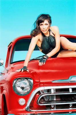 Rosario Dawson in Sweet Car Girl Model