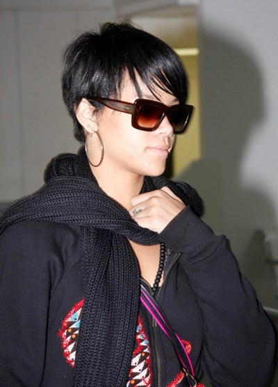 Rihanna Short Hairstyles - Gregory Fashion: Rihanna Short Hairstyles