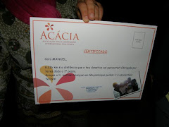 O meu certificado!