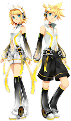 Rin and Len Kagamine APPEND
