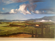 Italian Landscape      Oil