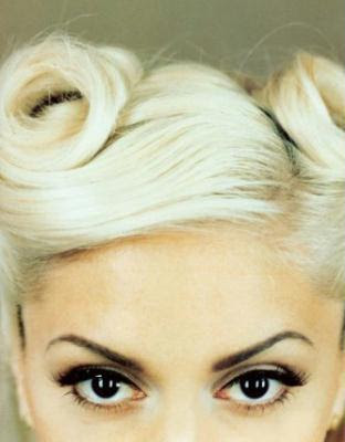 These dark roots blonde hair styles illustrate how super-light as