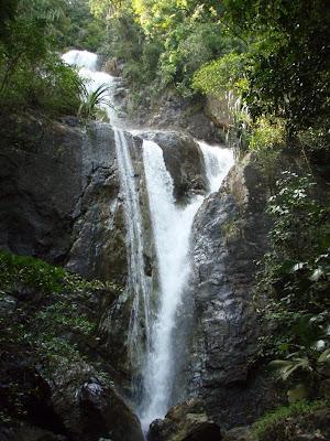 Penang Botanic Gardens waterfall
