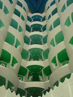 Atrium of Burj Al Arab Hotel, Dubai