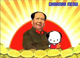 Chairman Meow: Parody of Chairman Mao Tse Tung or Mao Zedong
