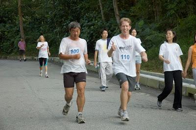TTDI park people exercising