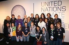WAGGGS at COP 15