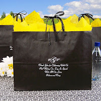 Personalized Kraft Gift Bags in Assorted Colors