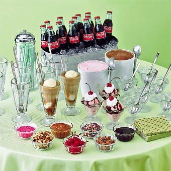Ice Cream Wedding Buffet Ideas