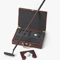 Personalized Executive Golf Putter Gift Set