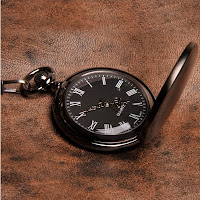 Midnight Personalized Pocket Watch