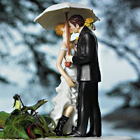 'Showered with Love' Spring Theme Cake Topper