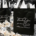 Custom Printed Frosted Gift Bags