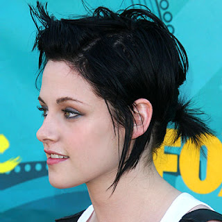 Kristen Stewarthair Color on Great Haircolor  Bring Out The Rocker Chick For A Night Of Fun