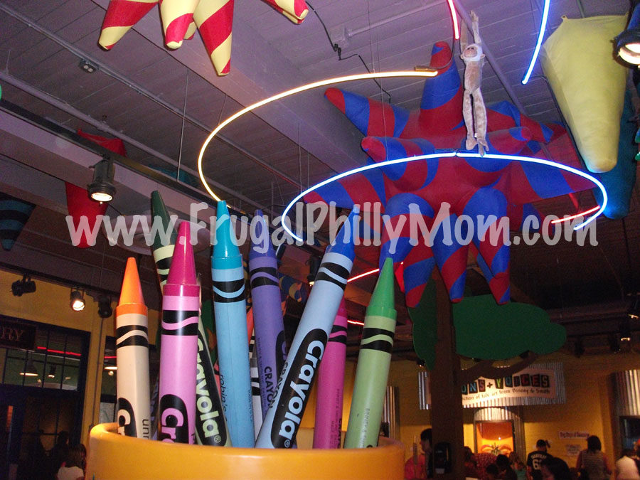 closed giveaway 4 passes to the crayola factory in easton pa