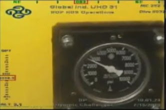 Florida Oil Spill Blow Out Preventer Pressure Gauge