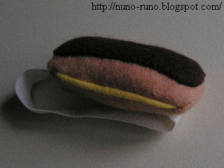 Eclair pincushion