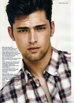 Sean O'Pry for i-D.....