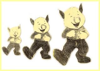 ScannedImage 21 Os Três Porquinhos Construção do Número para crianças