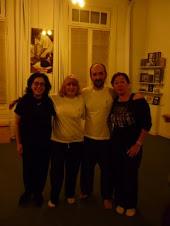 Con mi profe, Dr. Sebastian Eizaguirre, Ana María y Gabriela