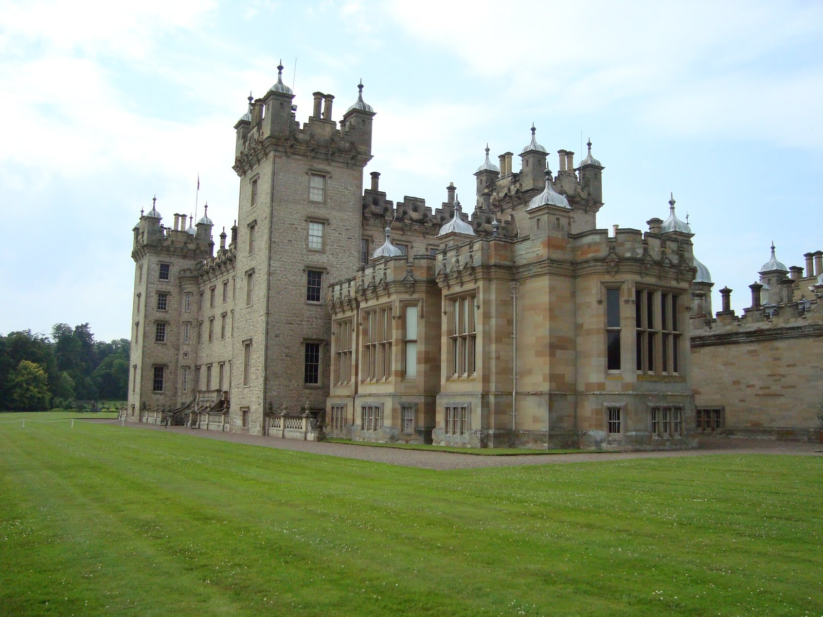 Floors Castle Home To The Duke And Duchess Of Roxburgh The Largest