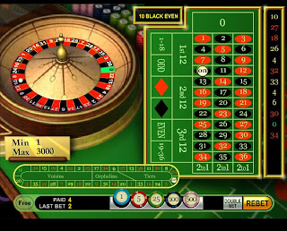 Winning from the roulette house