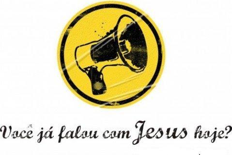 Já falou com Jesus hoje?
