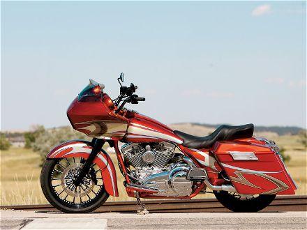 Harley Davidson models CVO road glide