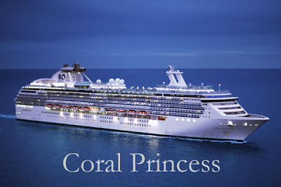Coral Princess postcard