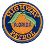 Florida Highway Patrol uniform patch