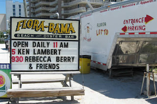 Flora-Bama's street sign