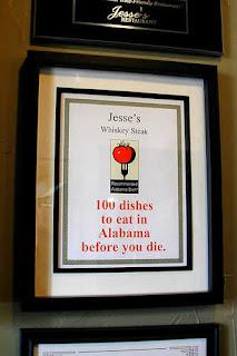 Award: Jesse's Whiskey Steak