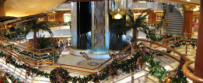 Island Princess atrium, click to enlarge