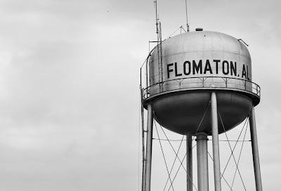 Water tower, Flomaton, Alabama