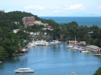 St. Lucia scenery