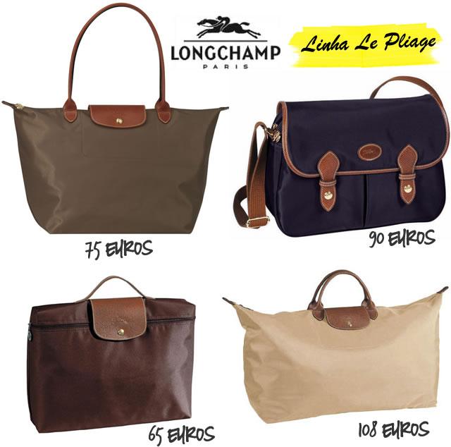 Bolsa Longchamp Branca : Simples legal longchamp as bolsas francesas