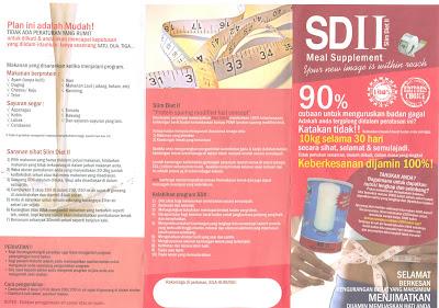 Labels: Pamplet Slim Diet II