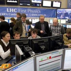 Sala de Control LHC