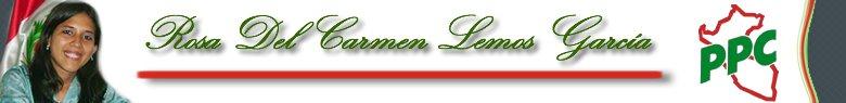 Rosa Del Carmen Lemos García