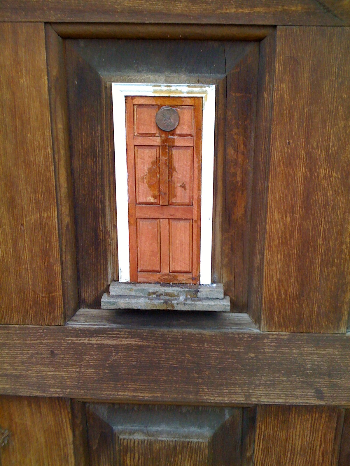 We bloom here fairy doors for The fairy door