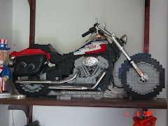 Lego Harley by my cousin Cindy