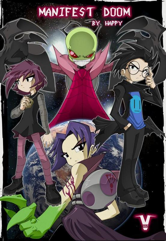 Invader Zim: Manifest Doom Completo + Extras Anime343ManifestDoom