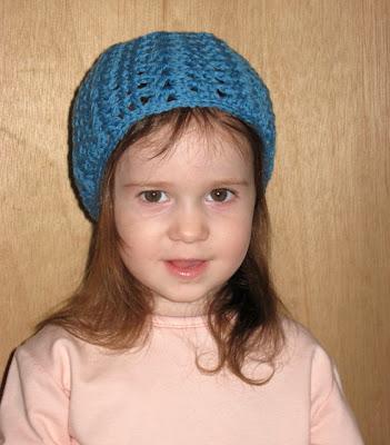 Little Blossom Toddler Hat Free Crochet Pattern Chicken